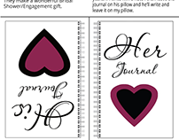 His/Her Journal on Sale!