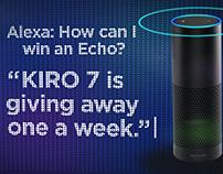 KIRO 7 Echo Giveaway
