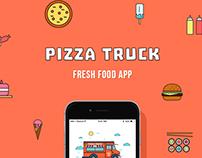 Pizza Truck - Fresh Food App