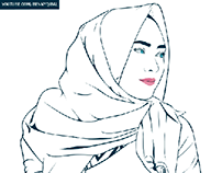 Outline vector Portrait