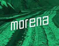 Morena   Free Font