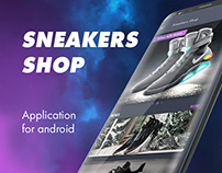 Sneakers Shop (Android app)