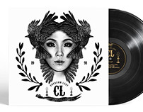 CL of 2NE1 - Album jacket design