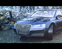 The Audi in Forest