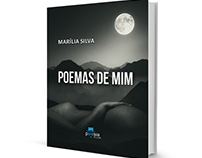 'Poemas de Mim' - Book Cover Design