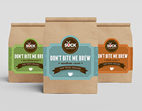 Don't Bite Me Coffee Packaging