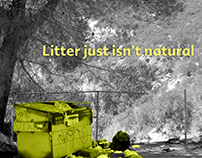Don't Litter campaign