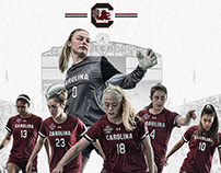 2018 Gamecock Women's Soccer poster