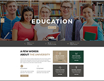 LearnCare- Educational PSD