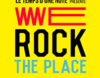 WE ROCK THE PLACE