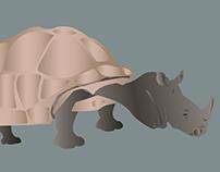Rhino-Turtle: Tino