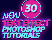 Free Text Effect Tutorials (30 Tuts)