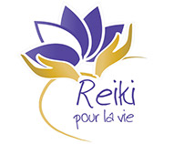 Logo Reiki pour la vie
