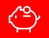 Banco Santander Icons