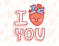 Real Love iMessage stickers