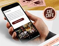 Site Café com Gato