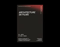 Architecture de films