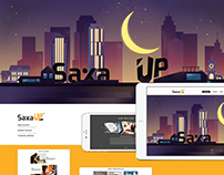 SaxaUp - Website Redesign