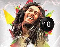 ReWine Reggae Night Flyer