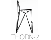 Metal bar chair Thorn-2