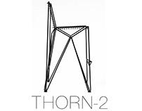 Metal bar chair Thorn-2