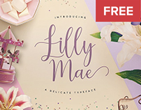 FREE FONT Lilly Mae