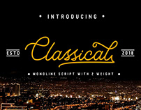 Classical Script Font FREE
