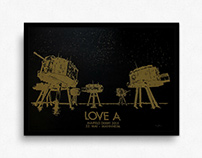Love A – Gigposter