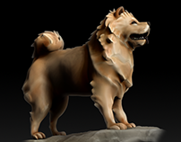 Baruk - Dog Character Model
