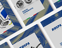 RUSPA OFFICINE . Brochure Design