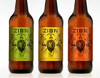 Etiquetas Cervecería ZION brew company