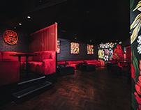 Branding, Art Direction & Interior Art: Tokyo Bar