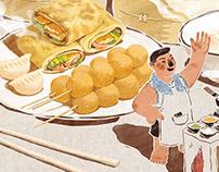2018 I illustration for Alipay 支付宝商家插画项目