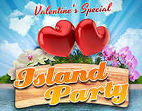 Island Party Poster