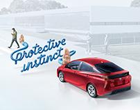 Prius: Toyota Safety Sense Print Campaign