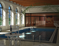 Swimming Pool. 3d