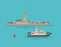 The Flotilla - Illustration