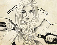 freehand illustrations for books