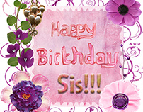 Happy Birthday, Sis! eCard
