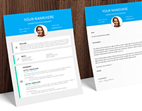 Le Marais - FREE Resume template + Cover Letter
