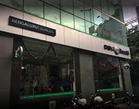 Benelli Branding (1st Showroom in Bengaluru)