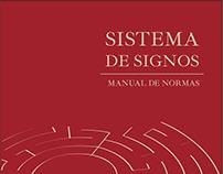Manual de normas - Sistema de Signos (pictogramas)