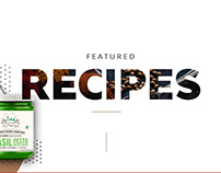 BChef Recipes Web Designs