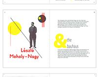 Editorial Design: László Moholy-Nagy & the Bauhaus