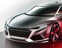 free automotive sketch