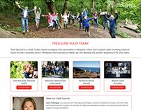 Red Squirrel website design