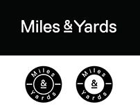 Miles & Yards branding