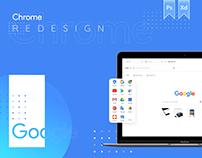 Google Chrome Redesign / New Concept UI