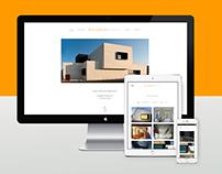 WEB Design - Patxi Cortazar Arquitecto