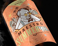 Craft Beer Label para la nueva Maestró Summer Ipa